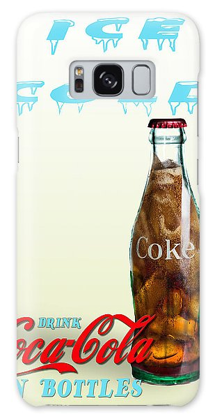 Galaxy Case featuring the photograph Drink Ice Cold Coke by James Sage