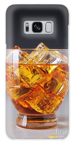 Cold Day Galaxy Case - Drink On Ice by Carlos Caetano