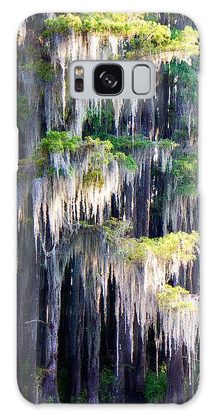 Dripping Moss Galaxy Case by Lana Trussell