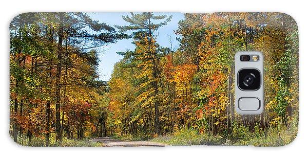 Drive Through Splendor In Minnesota Galaxy Case