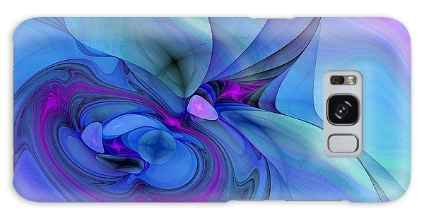 Driven To Abstraction Galaxy Case by Peggy Hughes
