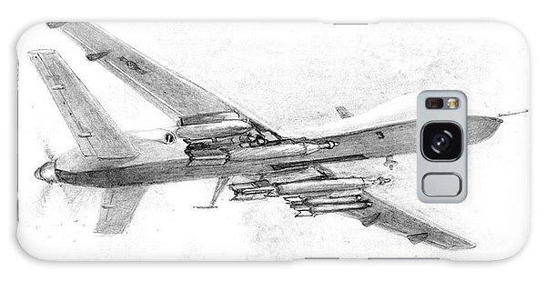 Drone Mq-9 Reaper Galaxy Case by Jim Hubbard