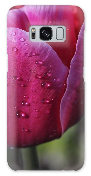 Droplets On Tulip Galaxy Case