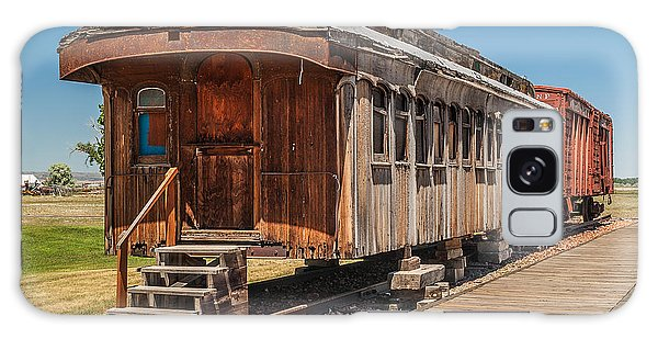 Drover And Cattle Cars Galaxy Case
