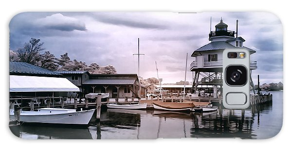 Drum Point In Infrared Watercolor Galaxy Case