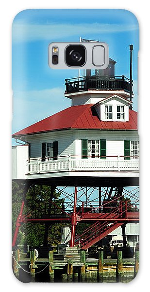 Drum Point Lighthouse Galaxy Case