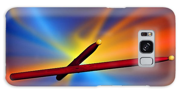 Drum Sticks Photograph For Combo Jazz  Color 3233.02 Galaxy Case