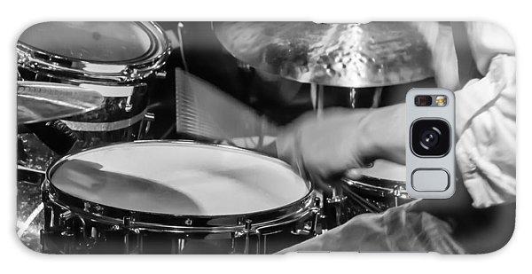 Drummer At Work Galaxy Case