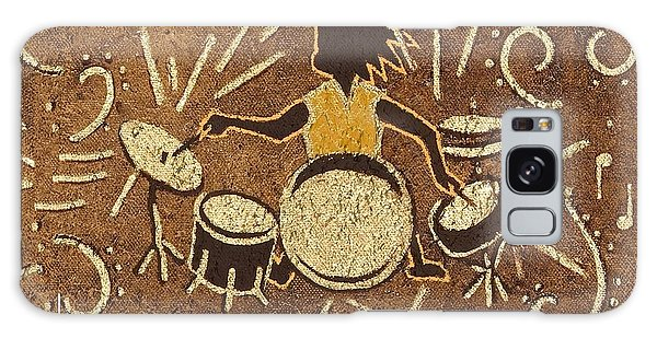 Drummer Galaxy Case by Katherine Young-Beck