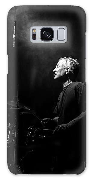 Drum Galaxy Case - Drummer Portrait Of A Muscian by Bob Orsillo