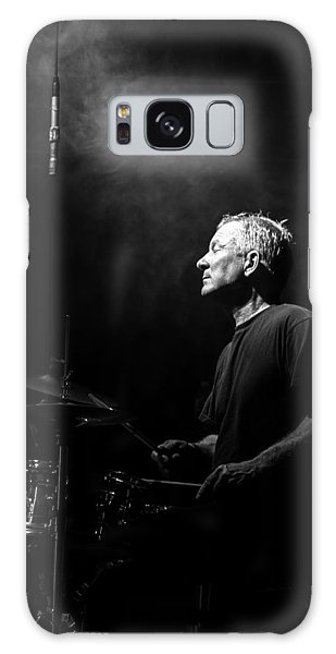 Drum Galaxy S8 Case - Drummer Portrait Of A Muscian by Bob Orsillo