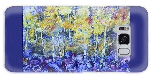 Dry Creek Aspens Galaxy Case by Nancy Jolley