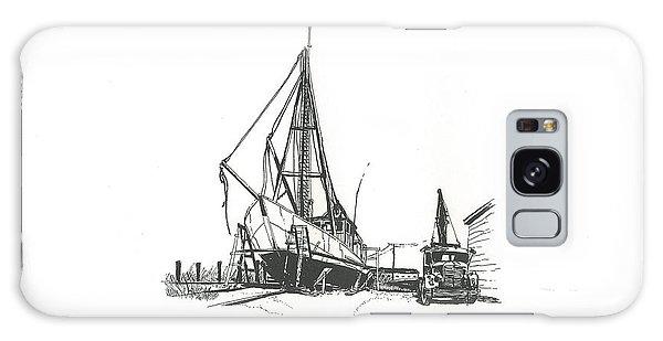Dry Dock  Galaxy Case by Alan Johnson