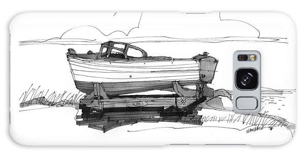 Dry Dock In Ocracoke Nc 1970s Galaxy Case