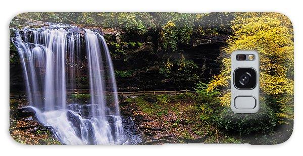 Dry Falls Along The Cullasaja River Galaxy Case