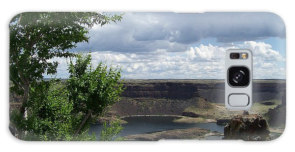 Dry Falls Overlook Galaxy Case