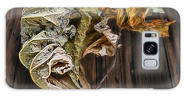 Dry Leaves 11 Galaxy Case by Vladimir Kholostykh