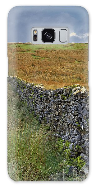 Dry Stone Wall Yorkshire Dales Uk Galaxy Case