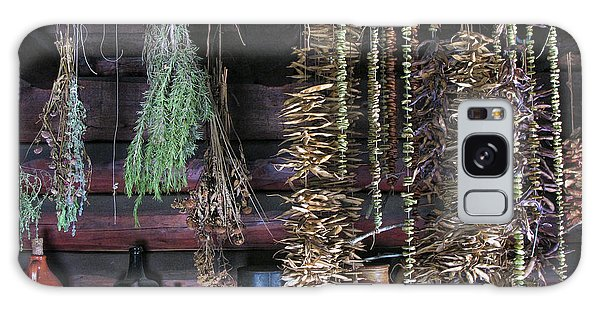 Drying Herbs And Vegetables In Williamsburg Galaxy Case by Dave Mills