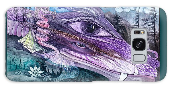 Dual Dragons Galaxy Case by Adria Trail