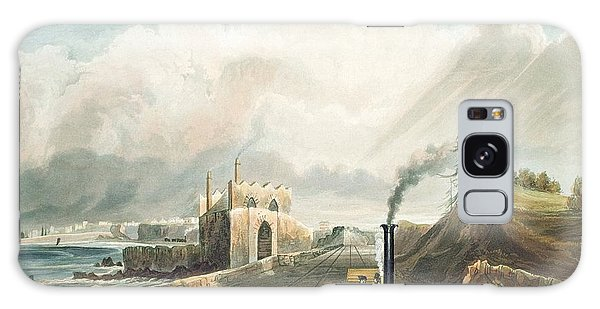 Trains Galaxy Case - Dublin And Kingstown Railway From by Andrew Nicholl