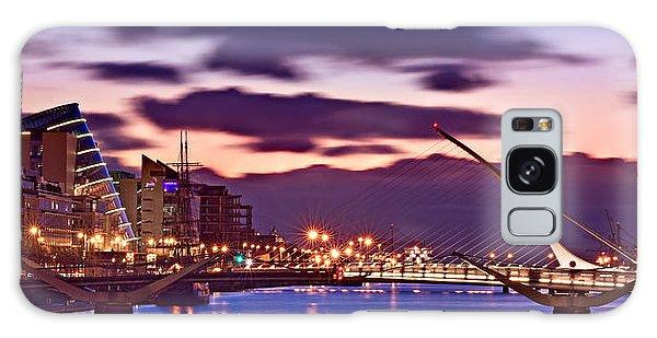 Galaxy Case featuring the photograph Dublin Docklands At Dawn / Dublin by Barry O Carroll