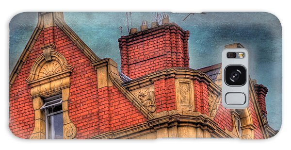 Brick House Galaxy Case - Dublin House Roof Top by Juli Scalzi