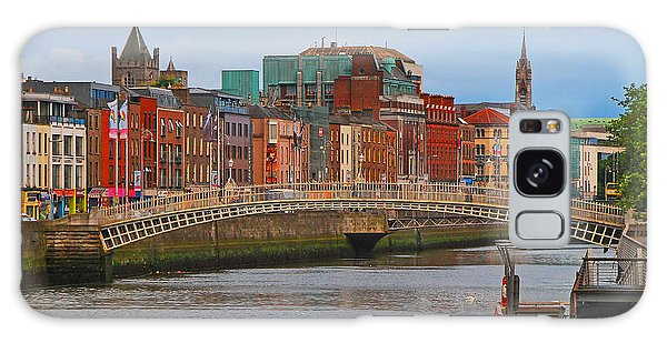Dublin On The River Liffey Galaxy Case