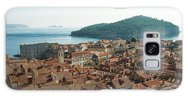 Dubrovnik View To The Sea Galaxy Case by Phyllis Peterson