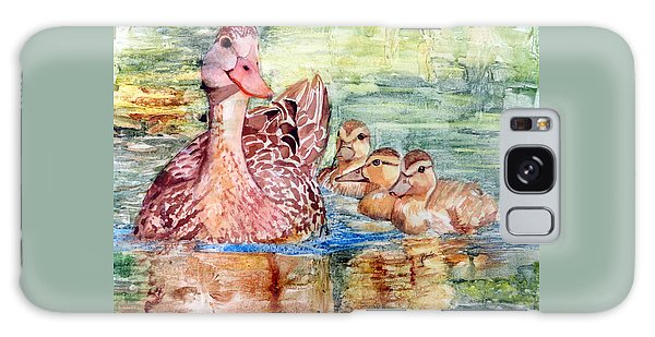 Duck Family Galaxy Case
