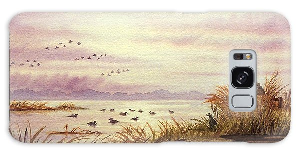 Duck Hunting Companions Galaxy Case by Bill Holkham