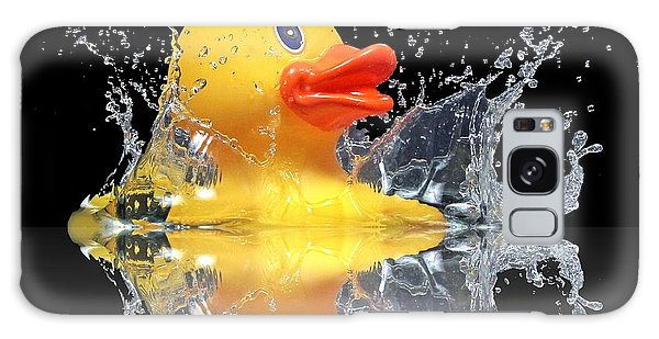 Yellow Duck Galaxy Case