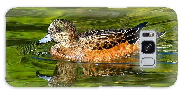 Young Female Mallard Duck Galaxy Case