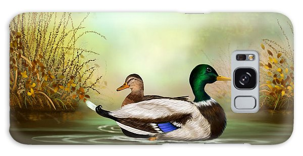 Duck Retreat Galaxy Case