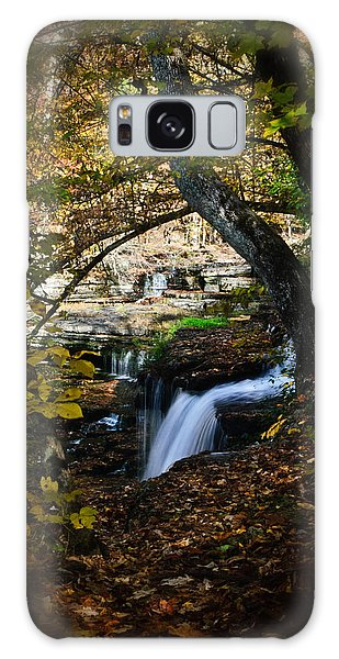 Duck River Falls Galaxy Case