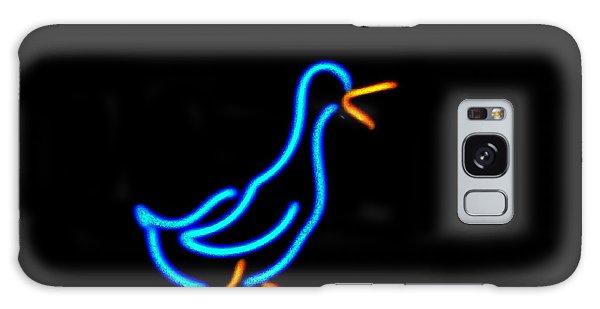 Duck Room Mascot Galaxy Case by Kelly Awad