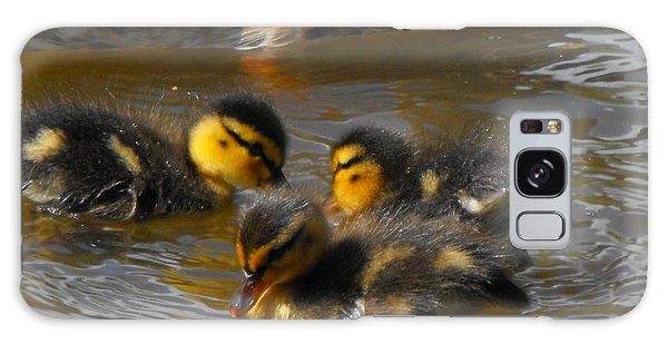 Duckling Splash Galaxy Case