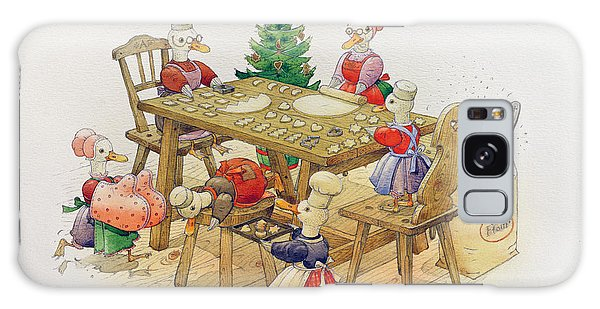 Prepare Galaxy Case - Ducks Christmas by Kestutis Kasparavicius