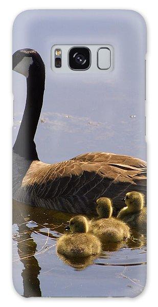Ducks In A Row Galaxy Case