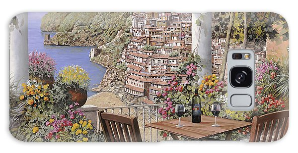 Place Galaxy Case - due bicchieri a Positano by Guido Borelli