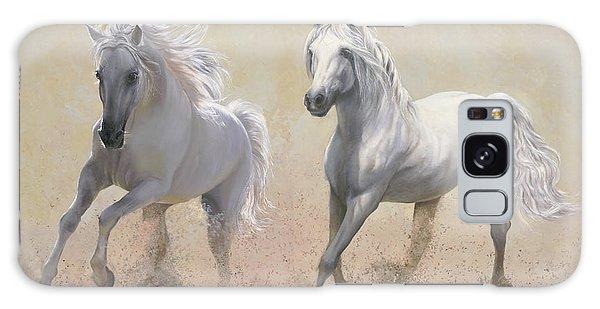 White Horse Galaxy Case - Due Cavalli by Guido Borelli