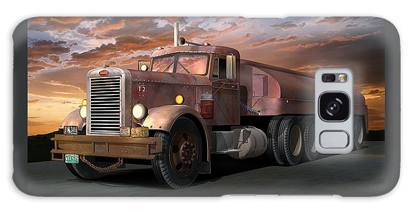 Semis Galaxy Case - Duel Truck With Trailer by Stuart Swartz