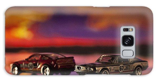 Dueling Mustangs Galaxy Case