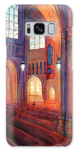 Duke Chapel Interior Galaxy Case