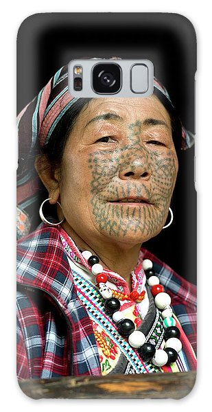 People's Republic Of China Galaxy Case - Dulong Woman With Facial Tattoos by Tony Camacho