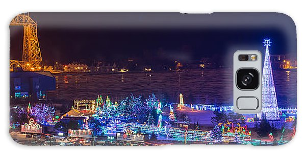 Duluth Christmas Lights Galaxy Case