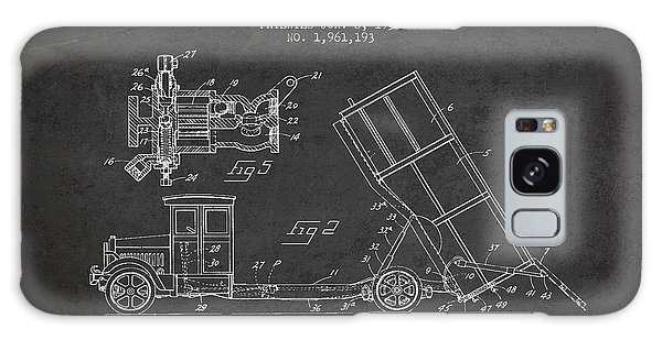 Dump Truck Patent Drawing From 1934 Galaxy S8 Case