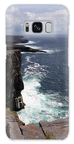 Dun Aengus Cliffs Galaxy Case