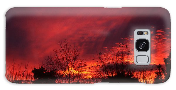 Dundee Sunset Galaxy Case