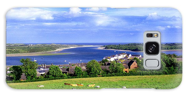 Dundrum Bay Irish Coastal Scene Galaxy Case by Nina Ficur Feenan